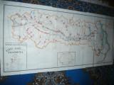 Harta mare a Judetului IALOMITA 1981 , dim.=81x167cm , RSR Inst. Geodezie