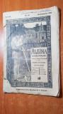 revista albina 28 septembrie 1908 - foto cu zeppelinul inainte de a arde