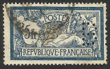 FRANTA -- PERFIN--1900 --MERSON, Stampilat