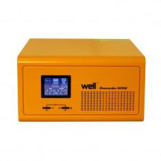 Cumpara ieftin UPS centrale termice Well Commander 230V/1600W, 2 x Schuko