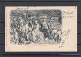 TELEGA  DOFTANA   DETINUTI  LA  TAIAT  SARE   CLASICA  UPU  CIRCULATA  1903