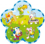 Cumpara ieftin Puzzle animale cu instrumente Baby Mix