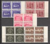 Romania.1941 50 ani Fundatia Carol I  bloc 4  CR.15, Nestampilat