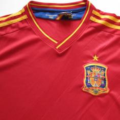 Tricou fotbal - Nationala de Fotbal din SPANIA