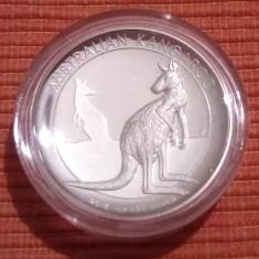 Moneda argint 1 uncie Australia Kangaroo 2016 high relief cutie+certificat