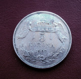 Moneda  5  korona  1907