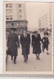 Bnk foto - Bucuresti - Calea Victoriei - anii `40, Alb-Negru, Cladiri, Romania 1900 - 1950