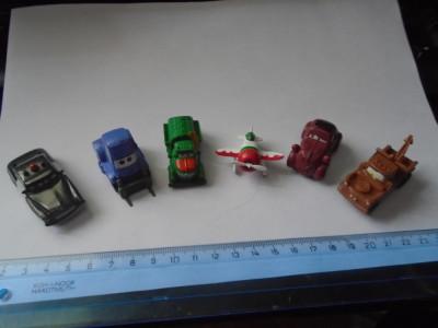 bnk jc Disney Pixar - lot 6 figurine Cars + Planes foto