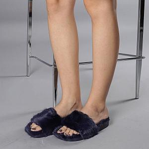 Papuci dama Elena albastri