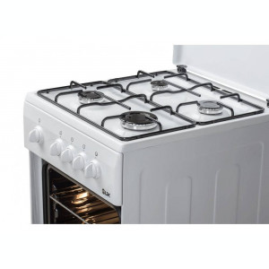 Aragaz LDK 5060 WH NG gaz 4 arzatoare alb