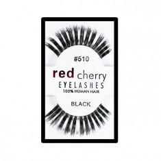 Gene false Red Cherry din par natural tip banda 510