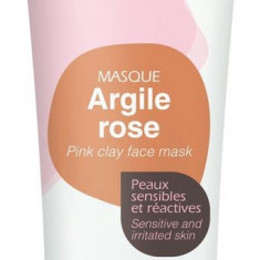 Mini Masca naturala din argila roz, ready-to-use, pt ten sensibil, Argiletz, 30g