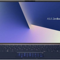 Ultrabook Asus ZenBook UX433FN-A5236 (Procesor Intel® Core™ i7-8565U (8M Cache, up to 4.60 GHz), Whiskey Lake, 14inch FHD, 8GB, 256GB SSD, nVidia GeFo