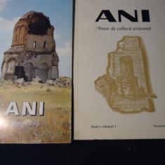 ANI-ANUAR DE CULTURA ARMEANA-ANUL1-VOL1-1994-ANUL2-1995-1996-VOL1=216PG-VOL2-384
