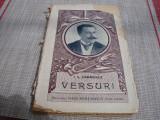 I. L. Caragiale - Versuri 1922 - uzata