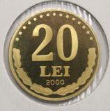 20 LEI 2000 PROOF . DIN SET DE MONETARIE .