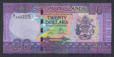 A3572 Solomon Islands Insulele Solomon 20 dollars ND 2017 UNC