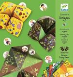 Set Initiere in origami, verde, Djeco