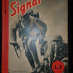 """REVISTA DE PROPAGANDA HITLERISTA """"SIGNAL"""", NUMARUL 16 DIN AUGUST 1942 - SIGNAL, REVISTA DE PROPAGANDA HITLERISTA, NUMARUL 16 DIN AUGUST 1942"""