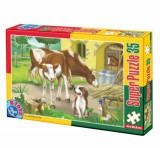 Cumpara ieftin Super puzzle Animale, 35 piese