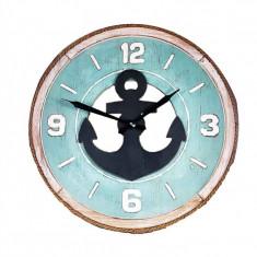 Ceas De Perete din Lemn ANCHOR WZ2390