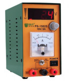 Sursa de alimentare, laborator, tensiune,reglabil: 0-15 V / 0-2A - PS1052S