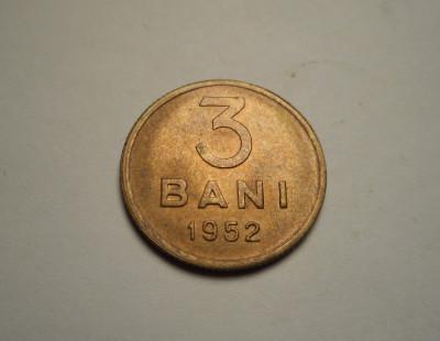 3 bani 1952 UNC foto