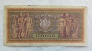 BANCNOTA 100.000 LEI 1947