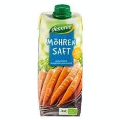 Suc de Morcovi Bio Vegan Dennree 500ml Cod: 701559