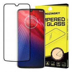 Folie Sticla Motorola Moto Z4 Wozinsky 5D Full Glue Neagru