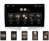 NAVIGATIE VOLKSWAGEN PASSAT B6 B7 CC, Android 10, HEXACORE PX6 4GB RAM + 64GB ROM, 10.1 Inch - AD-BGBVWP10P6