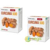 Curcuma 500 30cps Pachet 1+1