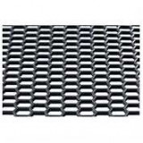 Plasa grila spoiler plastic Negru - Hexagon mare 15x35mm - 120x40cm ManiaMall Cars