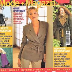 Burda revista moda croitorie insert in limba Romana 43 tipare 9/1998