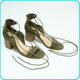 DE FIRMA → Sandale dama, frumoase, comode, calitate BERSHKA → femei   nr. 39