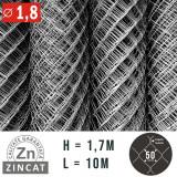 Cumpara ieftin PLASA IMPLETITA ZINCATA 1.7 X 10 M, DIAMETRU 1.8 MM