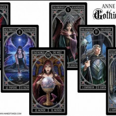 Gothic Tarot Deck-Carti de Tarot+BOOKLET/ORIGINALE ENGL/SIGILAT-LIVRARE IMEDIAT