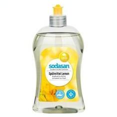Detergent Ecologic Lichid pentru Vase cu Lamaie Sodasan 500ml Cod: 4019886000239