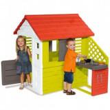 Cumpara ieftin Casuta cu bucatarie pentru copii Smoby Nature