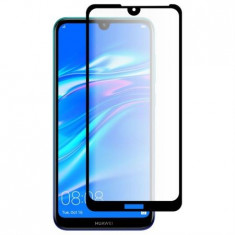Folie de protectie sticla full screen Huawei Y7 2019, Neagra