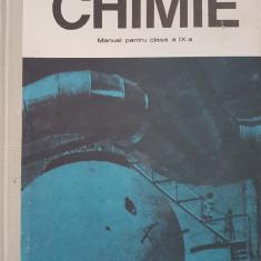 CHIMIE MANUAL PENTRU CLASA A IX-A - Petrescu, Cosma