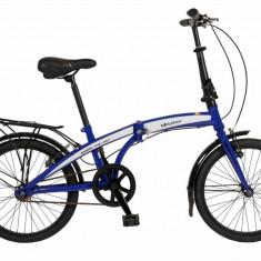 Bicicleta pliabila FIVE Uni unisex roata de 20 Albastru