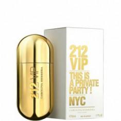 Apa de parfum Carolina Herrera 212 VIP, 50 ml, pentru femei