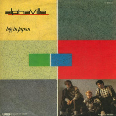 "Alphaville - Big In Japan (1984, WEA) Disc vinil single 7"""
