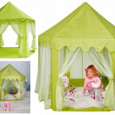 Cort Pliabil de Joaca pentru Copii, Interior sau Exterior, Culoare Verde