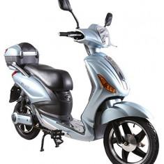 Bicicleta electrica, tip scuter, fara carnet si inmatriculare ZT-09-A CLASSIC ARGINTIU