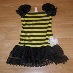 Costum carnaval serbare albina albinuta pentru copii de 4-5-6 ani, Din imagine
