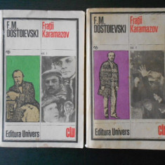 F. M. Dostoievski - Fratii Karamazov 2 volume