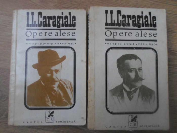 OPERE ALESE VOL.1-2 ANTOLOGIE SI PREFATA MARIN PREDA-I.L. CARAGIALE