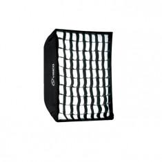 Softbox Visico SB-040 50x130cm cu grid honeycomb montura Bowens